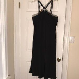 Evan-Picone-Black cocktail dress -Size 16